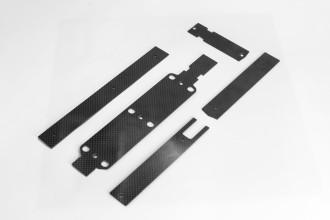 054005-X5 V2 碳纖陀螺儀座及電池座及強化板組