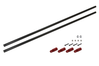 056213-碳纖支撐桿(適用 X5 V2)-CF Tail Boom Support Rod Set(for X5 V2)