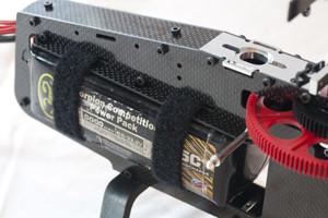 ♦加大電池放置空間, 可選擇多種電池的尺寸,使電池重心可以調整。