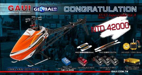 global 3D X5V2-CH